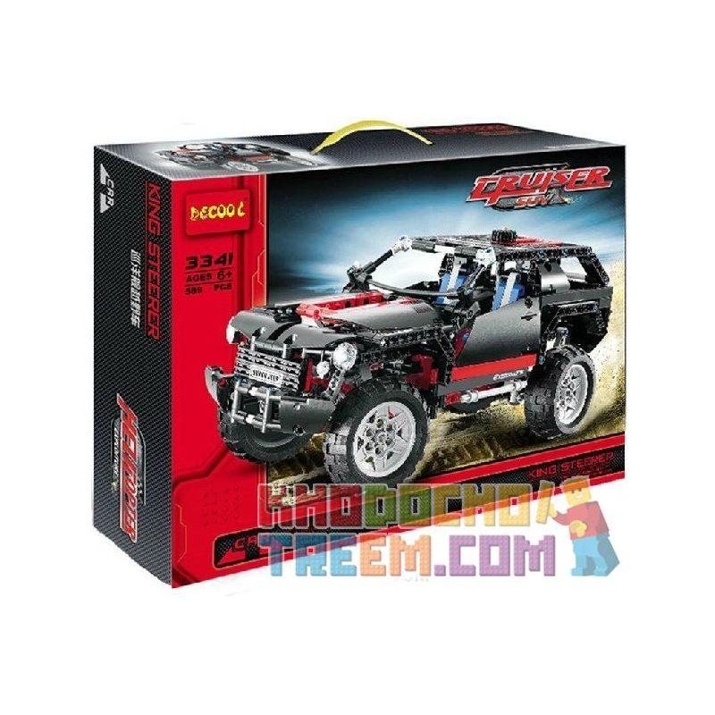 Decool 3341 Technic 8081 Extreme Cruiser style 2 Xếp hình xe đua địa hình 589 khối