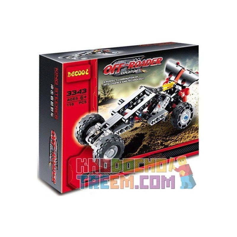 Decool 3343 Technic 8066 Off Roader style 2 Xếp hình xe ô tô đua off road 116 khối