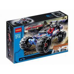 Decool 3411 Sheng Yuan 7010A (NOT Lego Technic 42010 Off Road Racer ) Xếp hình Xe Đua Off Road Kéo Thả 160 khối