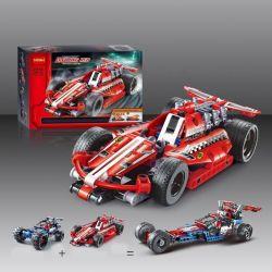 Decool 3412 Technic 42011 Race Car Xếp hình xe ô tô đua kéo thả 158 khối