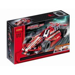 Decool 3412 Sheng Yuan 7011A Technic 42011 Race Car Xếp Hình Xe ô Tô đua Kéo Thả 158 Khối