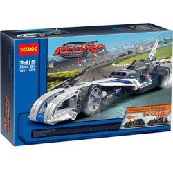 Lego Technic 42033 Decool 3415 Double Eagle CaDa C52003 Record Breaker Xếp hình xe ô tô giữ kỷ lục tốc độ kéo thả 125 khối