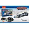 Decool 3415 Doublee Cada C52003 C52003W (NOT Lego Technic 42033 Record Breaker ) Xếp hình Xe Ô Tô Giữ Kỷ Lục Tốc Độ Kéo Thả 125 khối
