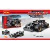 Decool 3417 (NOT Lego Technic 42046 Getaway Racer ) Xếp hình Xe Ô Tô Ma Tốc Độ Kéo Thả 170 khối