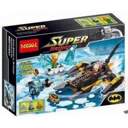 Decool 7102 Sheng Yuan SY301 Super Heroes 76000 Arctic Batman vs. Mr. Freeze Xếp hình người Dơi đánh nhau với người Đông Lạnh 198 khối