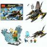 Decool 7102 Sheng Yuan 301 SY301 (NOT Lego DC Comics Super Heroes 76000 Arctic Batman Vs. Mr. Freeze ) Xếp hình Người Dơi Đánh Nhau Với Người Đông Lạnh 198 khối
