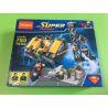 Decool 7103 (NOT Lego DC Comics Super Heroes 76002 Superman Metropolis Showdown ) Xếp hình Siêu Nhân Chiến Đấu Trong Thành Phố 119 khối