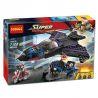 Decool 7122 Lepin 07033 Sheng Yuan SY381 Super Heroes 76047 Black Panther Pursuit Xếp hình đuổi theo phi thuyền Báo Đen 287 khối