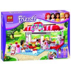 Bela 10162 (NOT Lego Friends 3061 City Park Cafe ) Xếp hình Quán Cafe Công Viên Thành Phố 222 khối