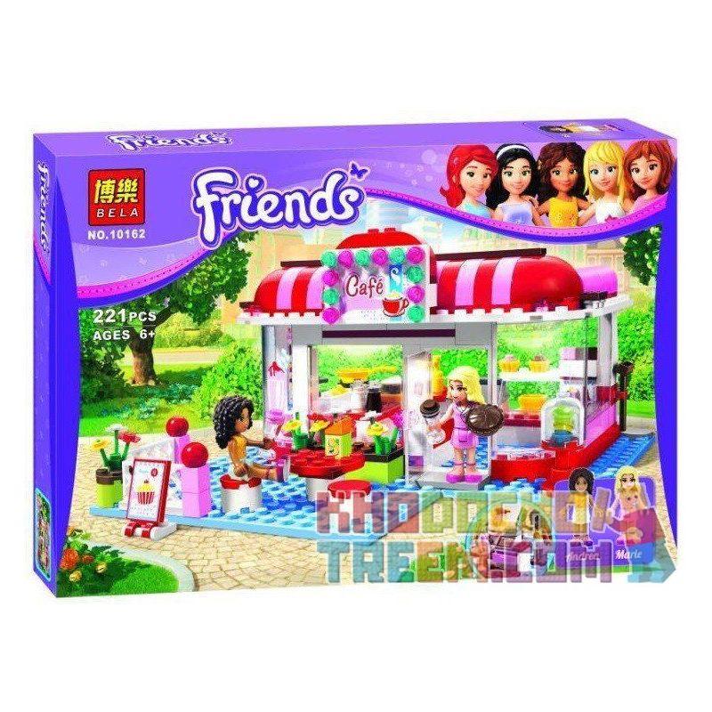 Bela 10162 Friends 3061 City Park Cafe Xếp hình quán cafe công viên thành phố 221 khối