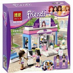Bela 10156 Friends 3187 Butterfly Beauty Shop Xếp hình cửa hàng Bươm Bướm bán đồ làm đẹp 224 khối