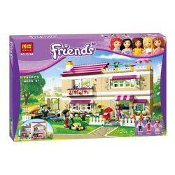 Bela 10164 Friends 3315 Olivia's House Xếp hình ngôi nhà của Clivia 695 khối