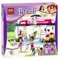 Bela 10171 Friends 41007 Heartlake Pet Salon Xếp hình salon làm đẹp cho thú cưng Hồ Trái Tim 241 khối