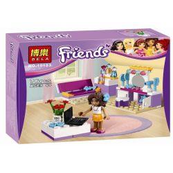 Bela 10153 Friends 41009 Andrea's Bedroom Xếp hình phòng ngủ của Andrea 76 khối