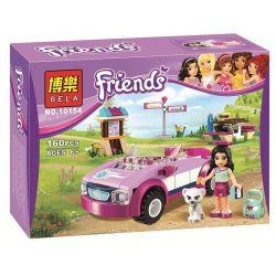 Bela 10154 Friends 41013 Emma's Sports Car Xếp hình ô tô thể thao của Emma 160 khối