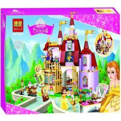 Bela 10565 Lepin 01010 Lele 37001 Sheng Yuan SY821 Disney Princess 41067 Belle's Enchanted Castle Xếp hình Lâu Đài Bị Phù Phép Người Đẹp Và Quái Vật 376 khối
