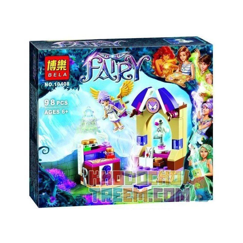 Bela 10408 Lele 79220 Elves 41071 Aira's Creative Workshop Xếp hình nơi làm việc sáng tạo của Aira 98 khối