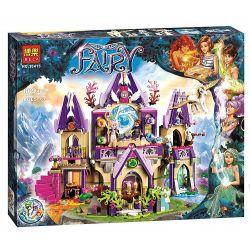 Bela 10415 Lepin 30001 Elves 41078 Skyra's Mysterious Sky Castle Xếp hình lâu đài thần bí trên không của Skyra 809 khối