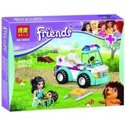 Bela 10534 Friends 41086 Vet Ambulance Xếp hình Xe Cấp Cứu Thú Y 96 khối