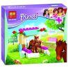 Bela 10533 Friends 41089 Little Foal Xếp hình chú ngựa con 43 khối