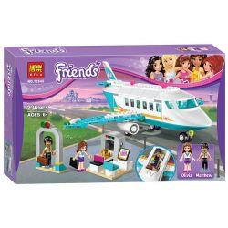 Bela 10545 Lele 79174 Sheng Yuan SY807 Friends 41100 Heartlake Private Jet Xếp hình phi cơ riêng Hồ Trái Tim 236 khối