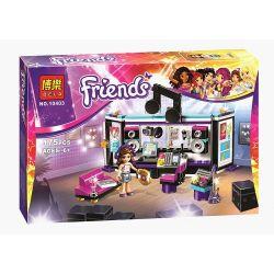 Bela 10403 Sheng Yuan SY377A Friends 41103 Pop Star Recording Studio Xếp hình studio ghi âm của siêu sao nhạc Pop 175 khối