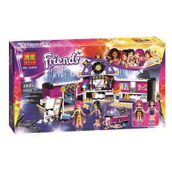 Bela 10404 Sheng Yuan 379 SY379 (NOT Lego Friends 41104 Pop Star Dressing Room ) Xếp hình Phòng Thay Đồ Của Siêu Sao Nhạc Pop 282 khối