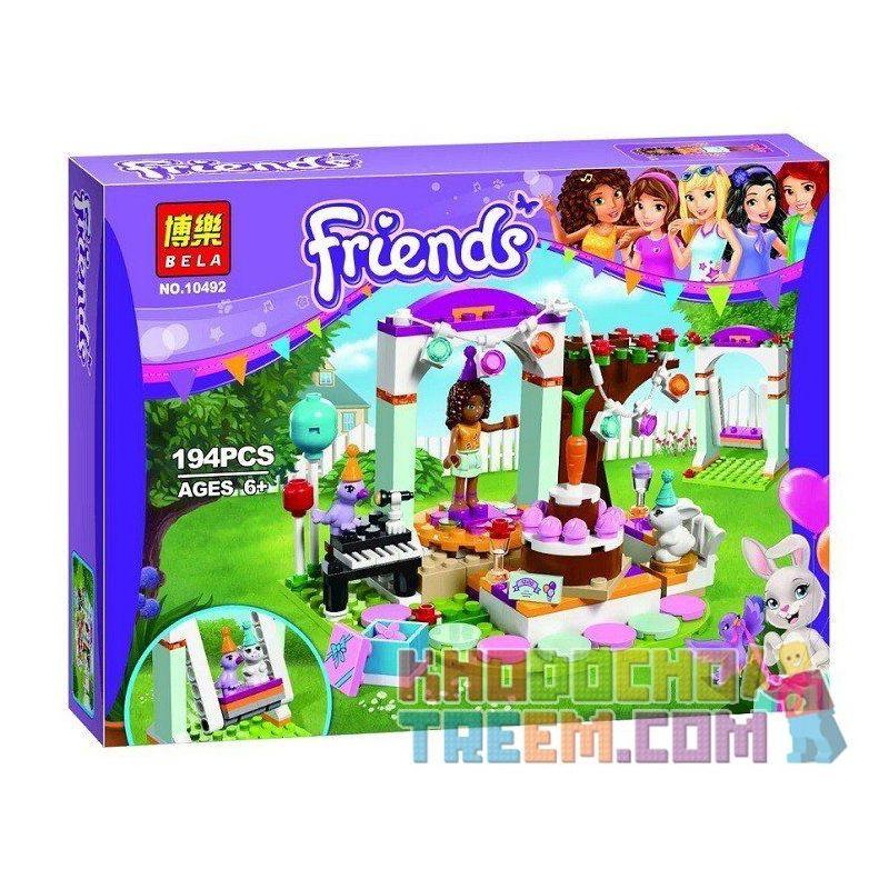 Bela 10492 Friends 41110 Birthday Party Xếp hình tiệc sinh nhật 194 khối