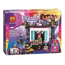 Bela 10538 Sheng Yuan 578 SY578 (NOT Lego Friends 41117 Pop Star Tv Studio ) Xếp hình Phòng Ghi Âm Của Ngôi Sao Nhạc Nhẹ 197 khối