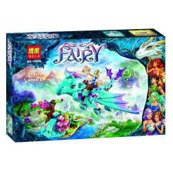 Bela 10500 Elves 41172 The Water Dragon Adventure Xếp hình phiêu lưu cùng chú rồng nước 214 khối