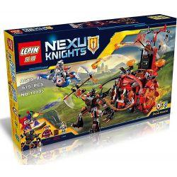 Lepin 14005 Bela 10489 Lele 79240 Sheng Yuan 567 SY567 (NOT Lego Nexo Knights 70316 Jestro's Evil Mobile ) Xếp hình Cỗ Xe Quái Vật Của Tên Hề Jestro 675 khối