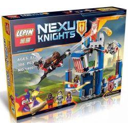 Lepin 14007 Bela 10486 Lele 79244 Sheng Yuan SY563 Nexo Knights 70324 Merlok's Library Xếp hình thư viện của các hiệp sỹ 308 khối