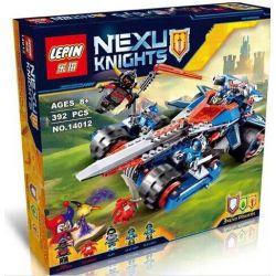 Lepin 14012 Bela 10488 Lele 79239 Bolx 81316 Nexo Knights 70315 Clay's Rumble Blade Xếp hình chiến xa lưỡi đao 392 khối