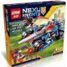 Lepin 14012 Bela 10488 Lele 79239 Sheng Yuan 566 SY566 (NOT Lego Nexo Knights 70315 Clay's Rumble Blade ) Xếp hình Chiến Xa Lưỡi Đao 392 khối