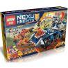 Lepin 14022 Bela 10520 Lele 79308 Sheng Yuan 805 SY805 (NOT Lego Nexo Knights 70322 Axl's Tower Carrier ) Xếp hình Tháp Canh Di Động 704 khối