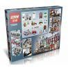 Lepin 15004 (NOT Lego Creator Expert 10197 Fire Brigade ) Xếp hình Trụ Sở Cứu Hỏa 2313 khối