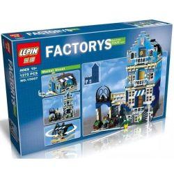 Lepin 15007 Pogo 10003 Lele 30013 (NOT Lego Creator Expert Modular Buildings 10190 Market Street ) Xếp hình Chợ Khu Phố 1275 khối