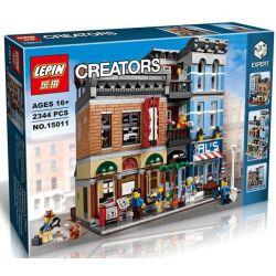Lepin 15011 Lele 30008 Modular Buildings 10246 Detective's Office Xếp hình Văn Phòng Thám Tử 2262 khối