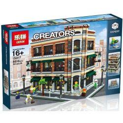 Lepin 15017 (NOT Lego Barnes & Noble And Starbucks Store ) Xếp hình Hiệu Sách Và Quán Cafe 4616 khối