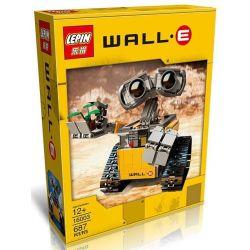 Lepin 16003 Lele 39023 Yile 407 Ideas 21303 Wall-E Xếp hình Rô Bốt Wall-E 687 khối