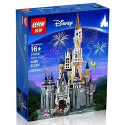 Lepin 16008 Lele 30010 Disney 71040 The Disney Castle Xếp hình lâu đài Disney 4080 khối