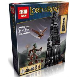 Lepin 16010 The Lord of the Rings 10237 Tower Of Orthanc Xếp hình Tháp Orthanc 2430 khối