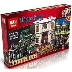 Lepin 16012 Harry Potter 10217 Diagon Alley Xếp hình hẻm Xéo của cư dân thế giới phép thuật 2025 khối