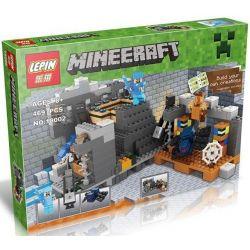 Lepin 18002 Bela 10470 Lele 79281 Minecraft 21124 The End Portal Xếp Hình Cánh Cổng địa Ngục Cuối Cùng 469 Khối