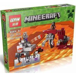 Lepin 18004 Bela 10469 Lele 79283 33190 Minecraft 21126 The Wither Xếp Hình Cuộc Chiến Tại địa Ngục 251 Khối