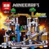 Lepin 18011 Lele 79074 Bela 10179 Sheng Yuan SY542 Bolx 81118 Minecraft 21118 The Mine Xếp hình Hầm Mỏ 922 khối
