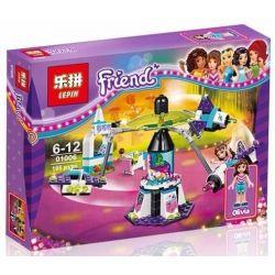 Lepin 01006 Sheng Yuan 836 SY836 Bela 10556 (NOT Lego Friends 41128 Amusement Park Space Ride ) Xếp hình Đu Quay Tay Văng 195 khối