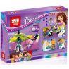 Lego Friends 41128 Lepin 01006 Sheng Yuan SY836 Bela 10556 Amusement Park Space Ride Xếp hình đu quay tay văng 195 khối