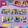 Lepin 01007 Sheng Yuan SY837 Bela 10559 Friends 41129 Amusement Park Hot Dog Van Xếp hình Xe Bán Xúc Xích 249 khối