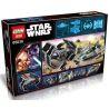 Lepin 05030 (NOT Lego Star wars 75150 Vader's Tie Advanced Vs. A-Wing Starfighter ) Xếp hình Đuổi Bắt Phi Thuyền Chiến Đấu Cánh Chữ A 722 khối